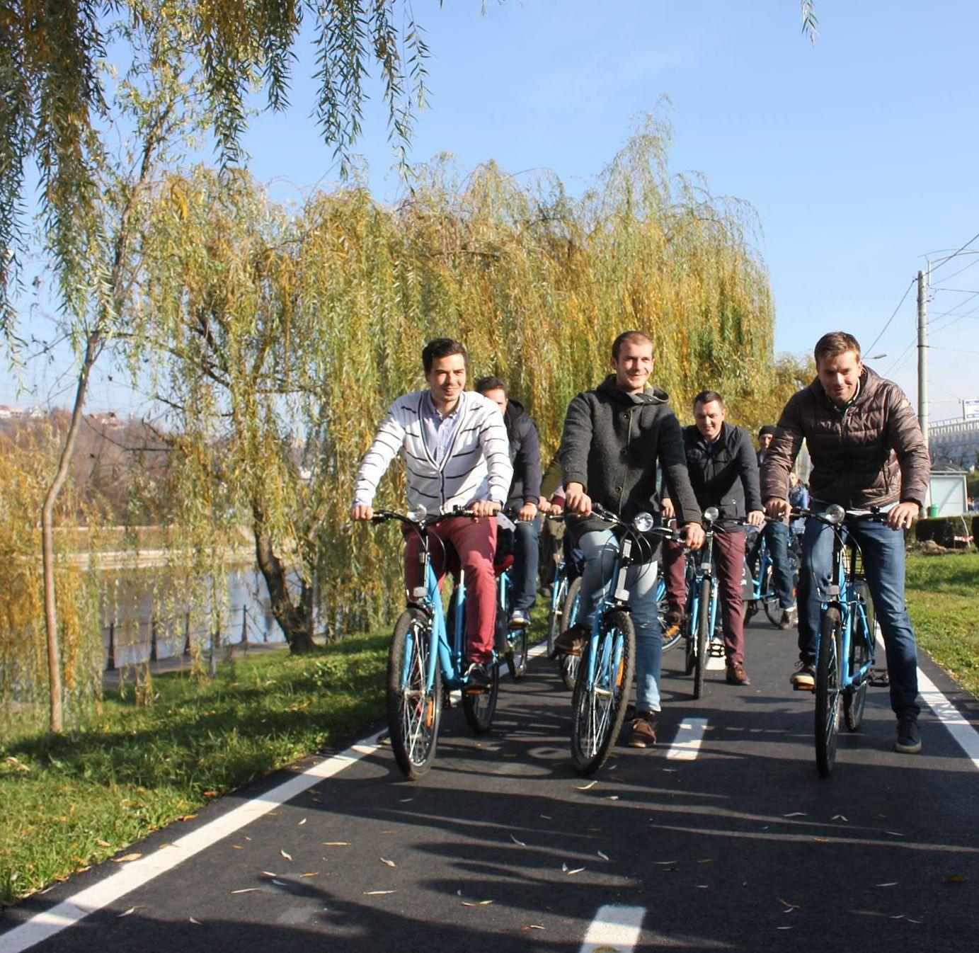 inaugurare bike sharing