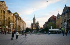 Piața Victoriei din Timișoara