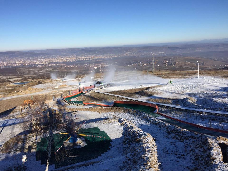 Amenajarea Pârtiei Teleschi Feleacu a început în ultima zi a anului trecut.