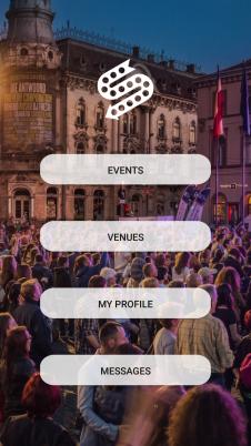 Sweed își așteaptă clienții și utilizatprii cu o interfață prietenoasă și informații utile despre evenimentele din oraș.