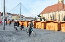 Bicicliştii clujeni protestează faţă de deficienţele pistelor de biciclete