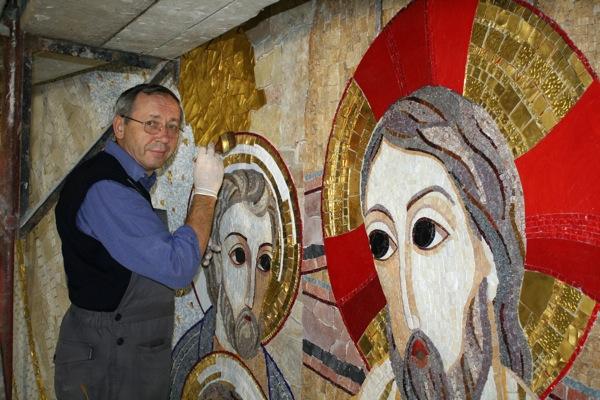 Iezuitul Rupnik a lucrat în mozaic și la Cluj