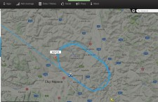 Foto: captură Flightradar24.com