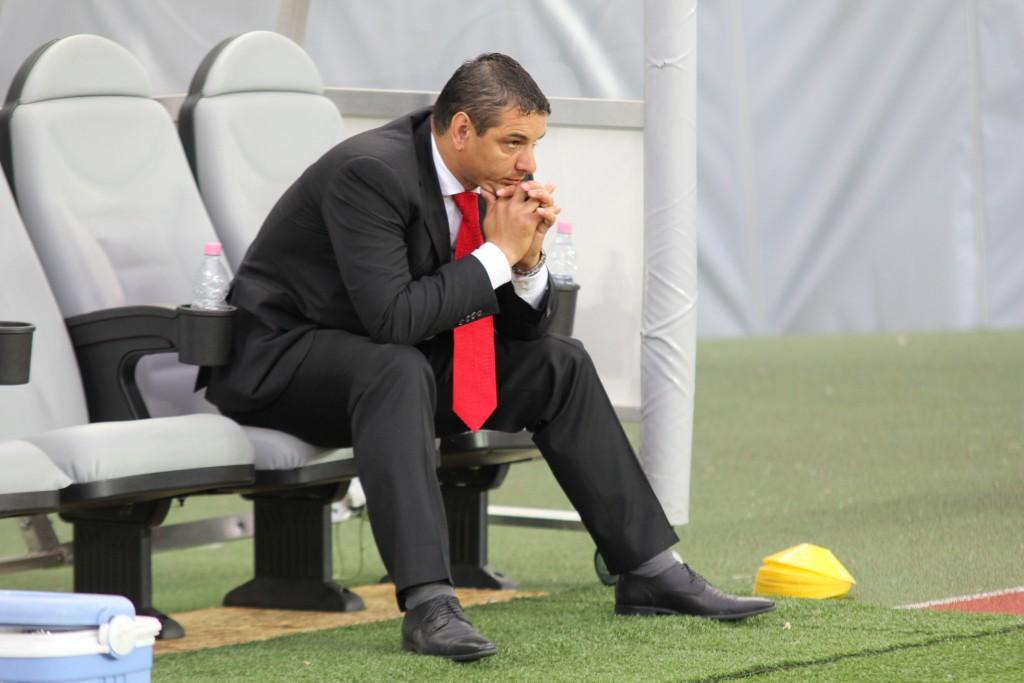 Ionel Ganea, fost antrenor al FC Universitatea Cluj / Foto: Dan Bodea