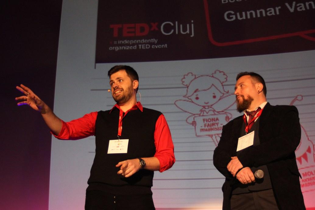 Dragoș Muscalu și Rob Pavicsits/Foto: Dan Bodea