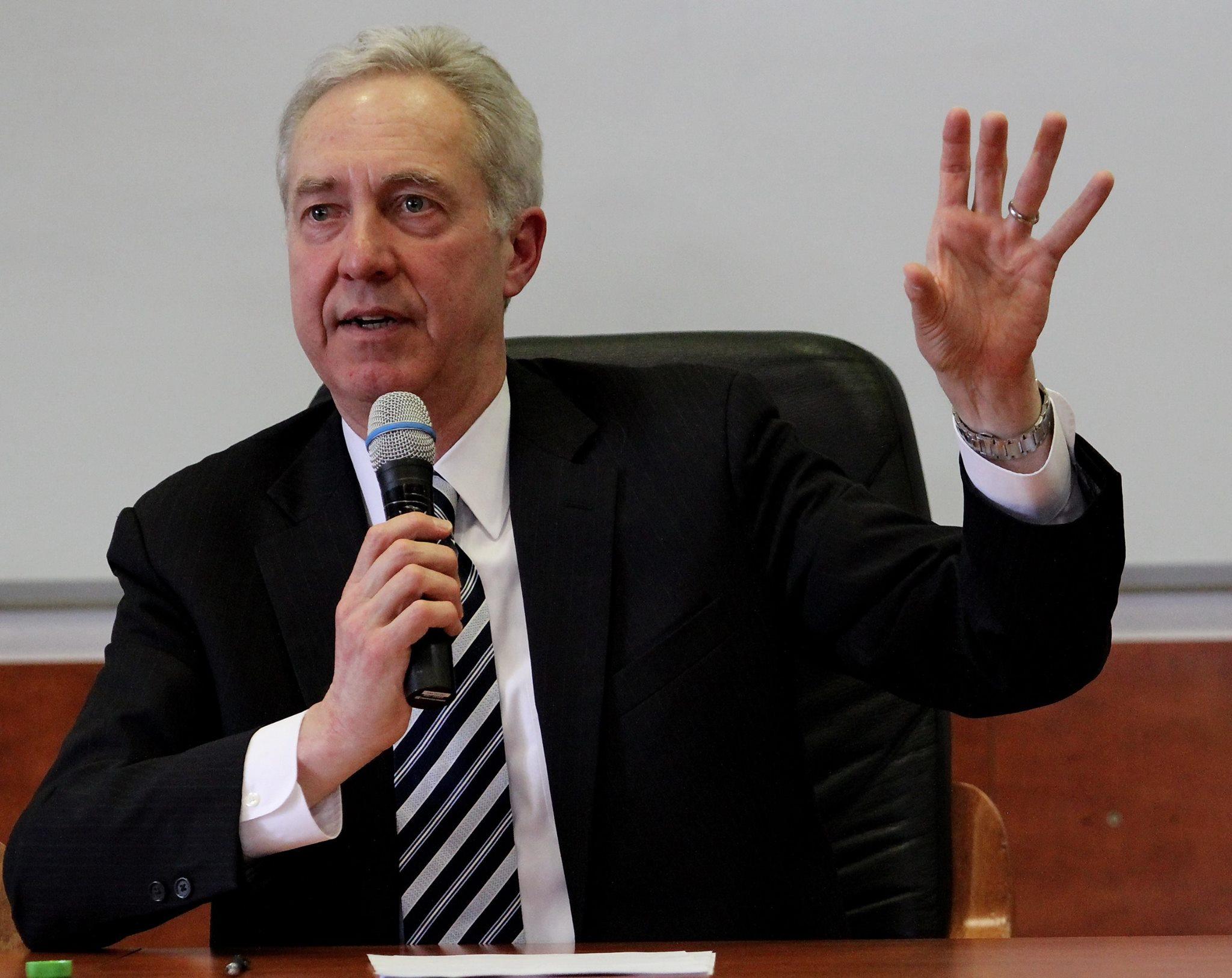 Hans Klemm, ambasadorul SUA în România (Foto: Dan Bodea)