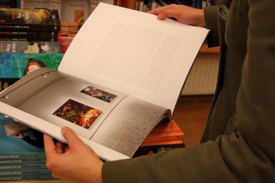 Albumul poate fi cumpărat din Librăriile Humanitas sau online la prețul de 91,  52 lei/Foto Dan Bodea