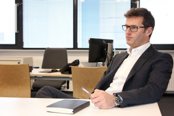 Massimo Paronitti, directorul fabricii DeLonghi din Jucu (Foto: Dan Bodea)