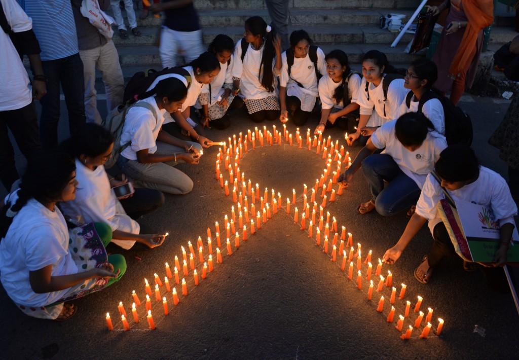 INDIA-CANCER-AWARENESS