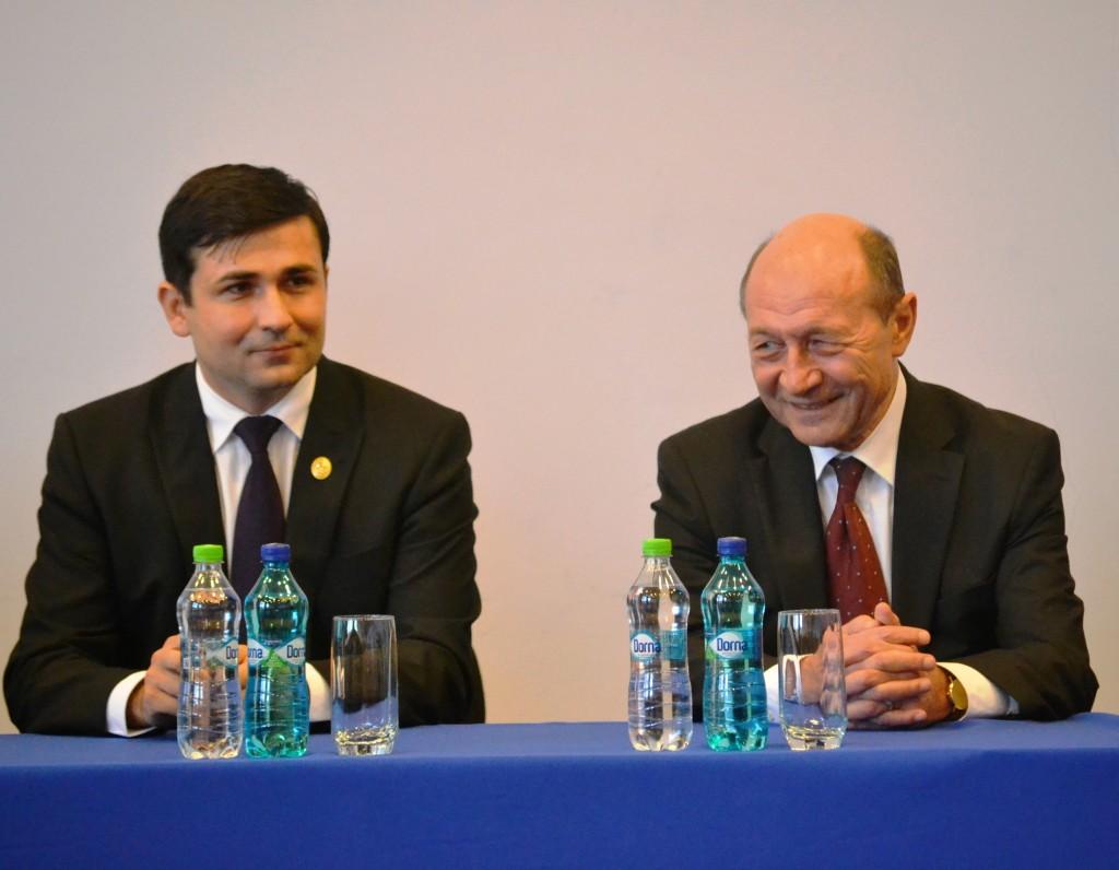 Adrian Gurzău și Traian Băsescu / Foto: Maria Man