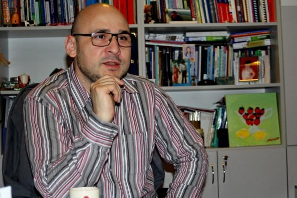 Florin Moisă,   președinte executiv al Centrului de Resurse pentru Comunitățile de Romi / Foto: Dan Bodea
