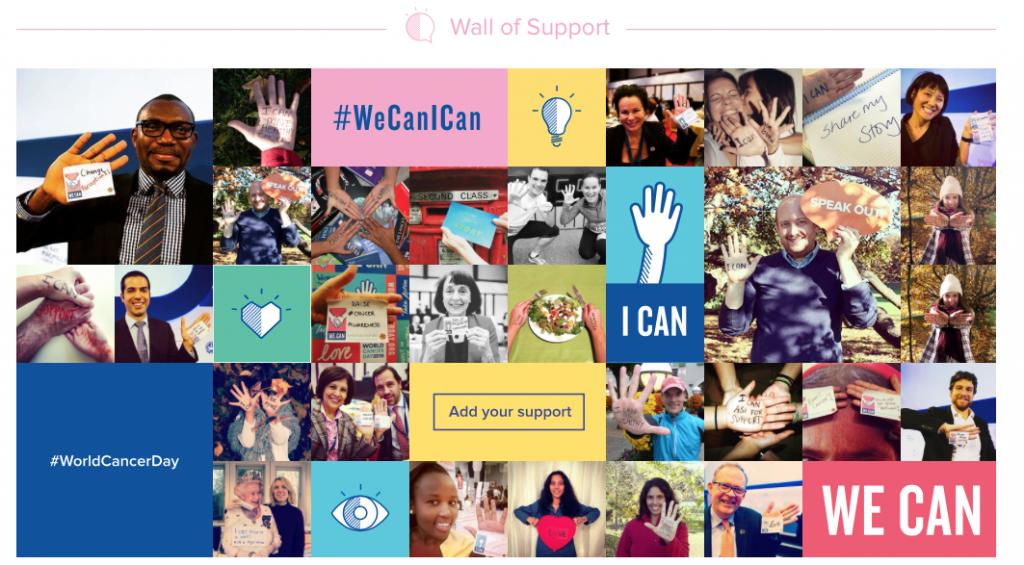 Uniunea Internaţională pentru Controlul Cancerului este un consorţiu mondial, care are ca membre peste 800 de organizaţii, care luptă împotriva cancerului, din peste 155 de ţări. UICC a organizat pentru prima dată Ziua mondială de luptă împotriva cancerului în 2006.