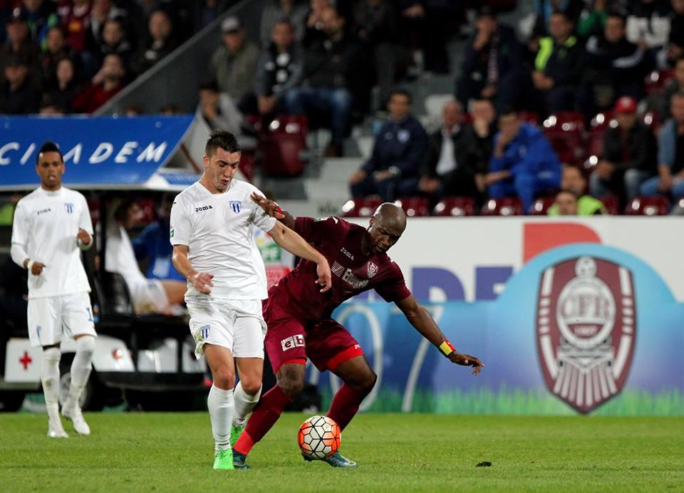 Duelurile dintre CFR Cluj ;i CSU Universitatea Craiova se vor relua odată cu startul fazei play-out a Ligii 1 / Foto: Dan Bodea