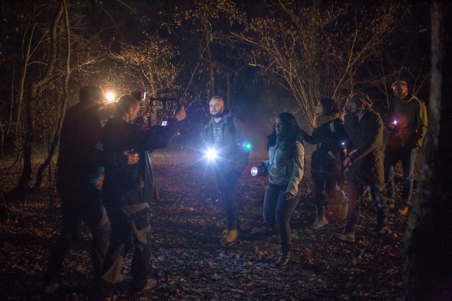 """Timp de aproape un an, pădurea Hoia-Baciu va fi bântuită de echipa care filmează documentarul """"The Hoia-Baciu Forrest. Truth or legend?"""" (Foto: Camelia Giurgiu)"""