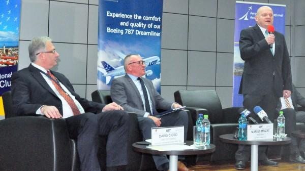 Compania poloneză LOT îşi anunţă primele zboruri de la Cluj