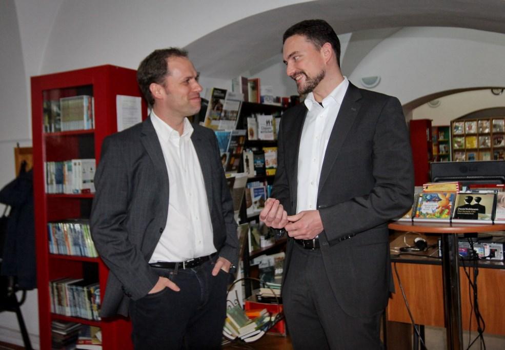 Ingo Tegge și Fabian Mühlthaler/Foto arhivă: Dan Bodea