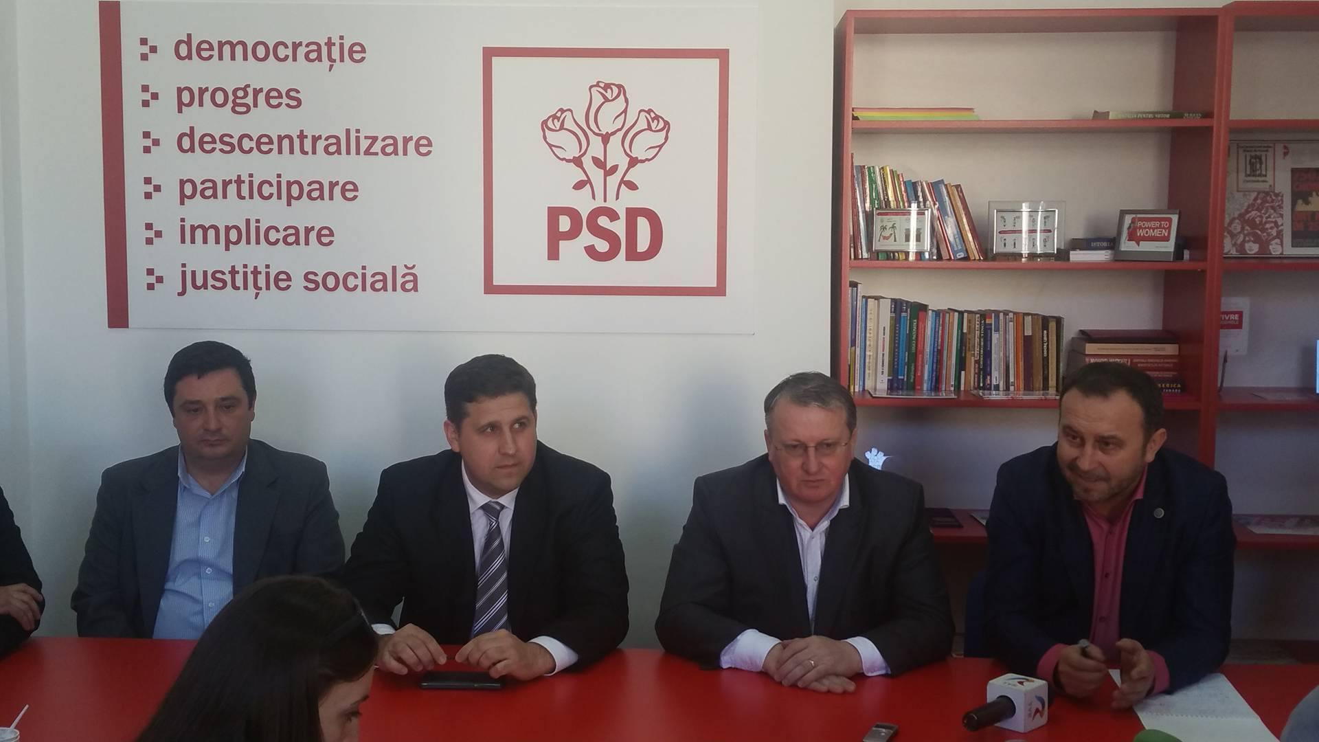 Dinu Criste (foto dreapta) va candida la primăria comunei Florești cu sau fără susținerea politică a PSD Cluj.