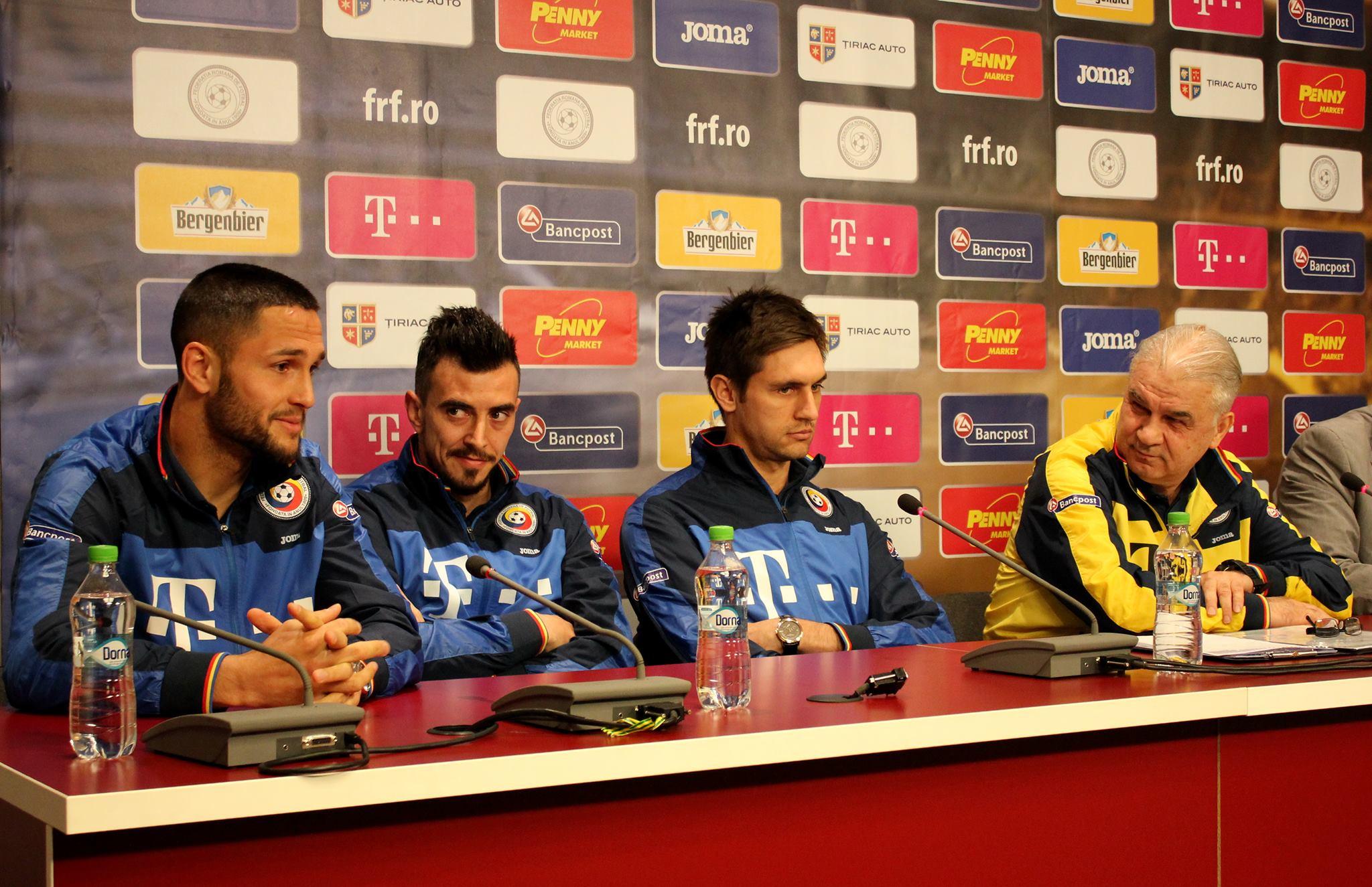 Florin Andone, Ioan Hora, Ciprian Tătărușanu, Anghel Iordănescu (Foto: Dan Bodea)