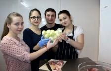 Elena,   Larisa,   Tudor și Ana-Maria/ Foto: Dan Bodea