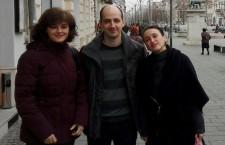 Inițiatorii proiectului: Raimonda Boia,   George Jiglău și Cosmina Paul
