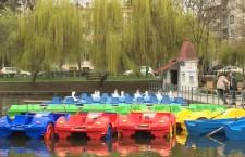 Se deschide sezonul de canotaj pe Lacul Chios