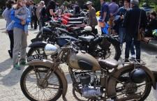 FOTO/Motociclete de 80 de ani în Parcul Central