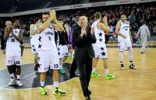 U-BT Cluj a cucerit,   luni seară,   prima Cupă a României şi al doilea trofeu major cu Marcel Ţenter antrenor / Foto: Dan Bodea