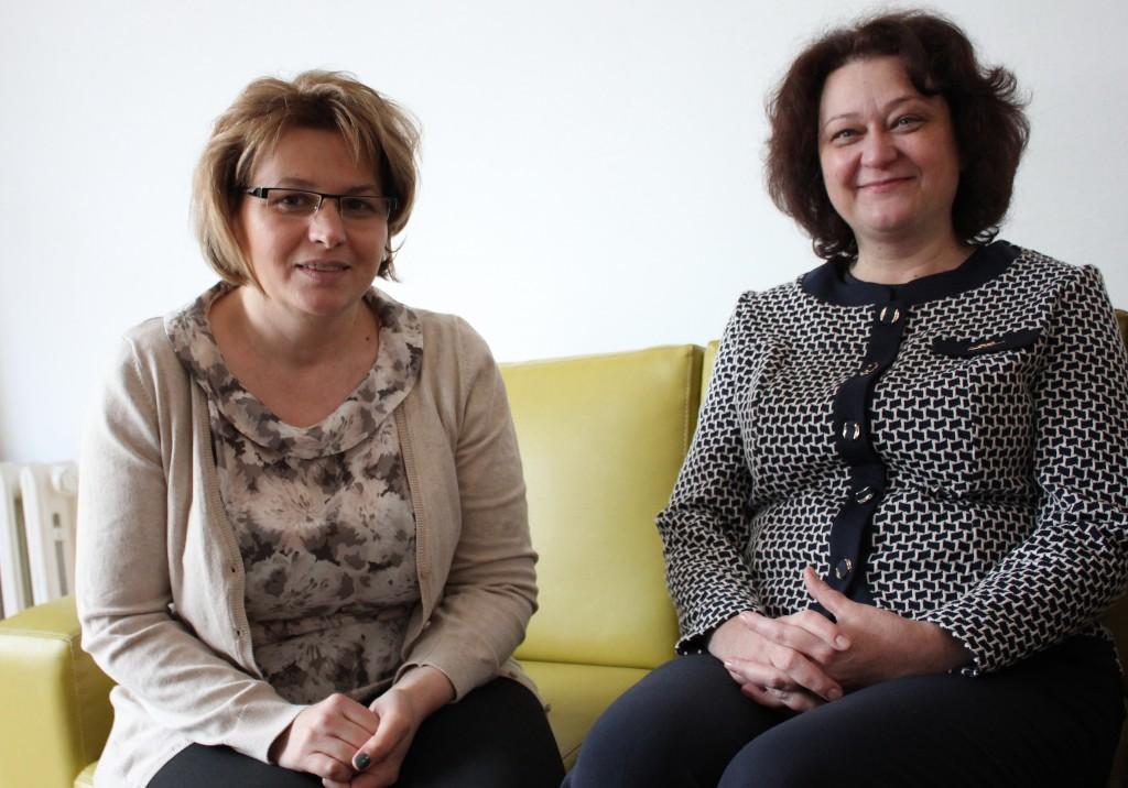 Cecilia Maier și Camelia Varga/ Foto: Dan Bodea