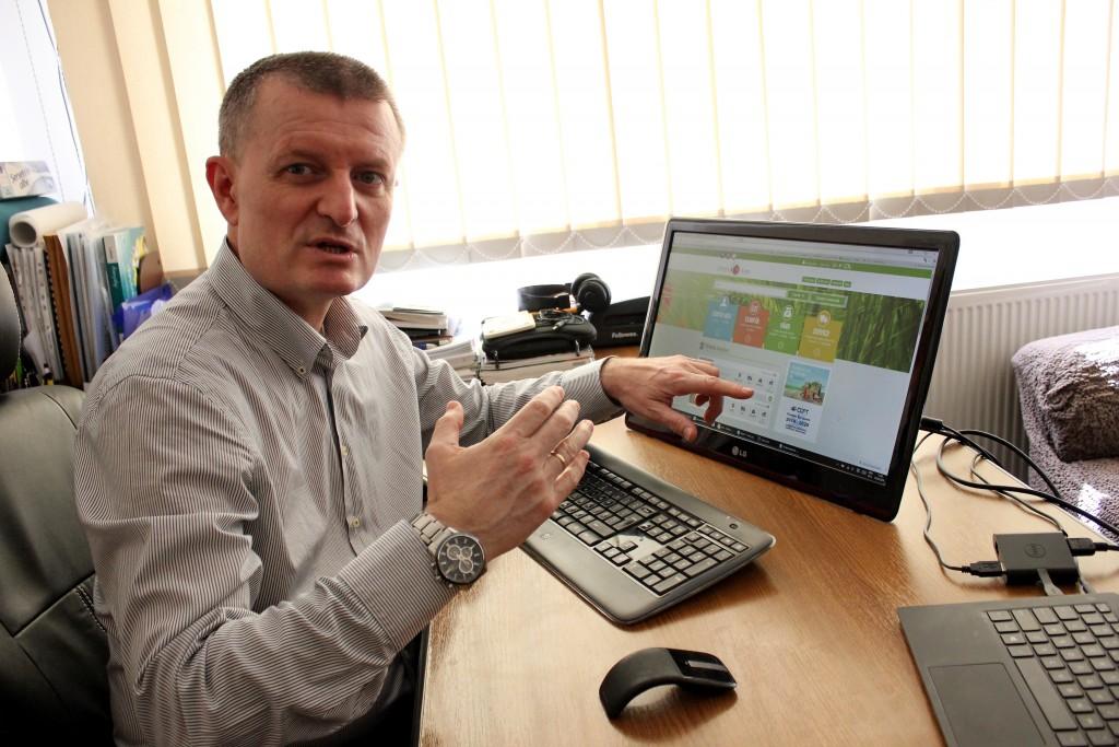 Ovidiu Pintea, manager Optima Soft/ Foto: Dan Bodea