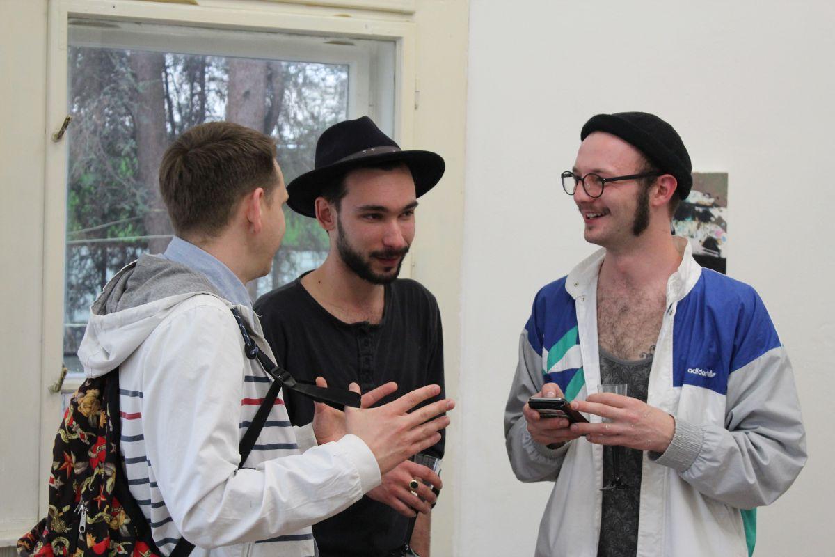 Matei Țigăreanu (foto mijloc) și Andrei Sclifos (foto dreapta)/ Cristina Beligăr