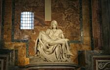 Pieta, a doua lucrare celebră semnată de Michelangelo