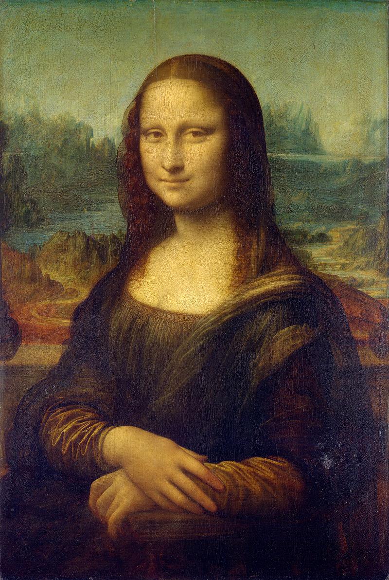 Cina cea de Taină (1495–1498) şi Mona Lisa (cca 1503–1506) sunt printre cele mai cunoscute şi totodată impozante picturi ale Renaşterii. Mona Lisa este, cu siguranţă, cea mai renumită pictură din lume – poate fi văzută la Muzeul Luvru, în Paris.