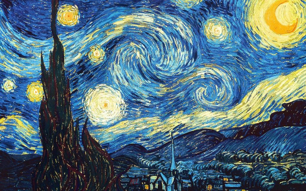 Noapte instelata Van Gogh