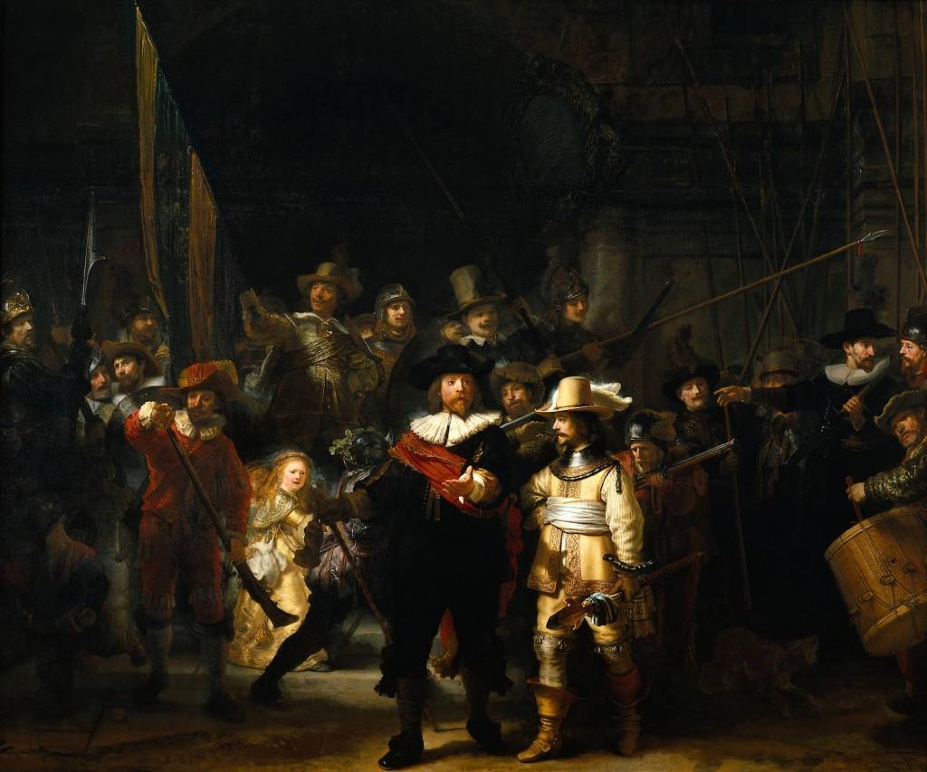 Rembrandt Rondul de noapte