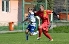 Mihaela Ciolacu (foto,   în roșu) a marcat o dublă în victoria echipei Olimpia Cluj,   scor 6-0,   în semifinala Cupei României contra celor de la Real Craiova