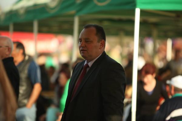 Primarul comunei Bogata/ Foto: Jazz in the Park