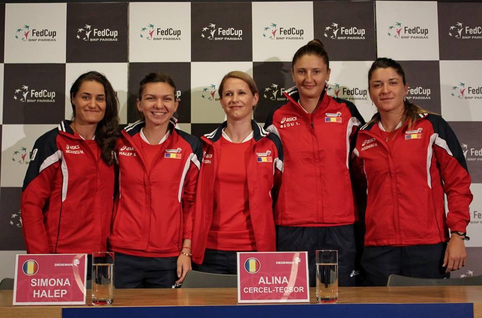 În formulă completă echipa feminină de tenis a României va înfrunta în Sala Polivalentă Cluj-Napoca, în zilele de 16 şi 17 aprilie, reprezentativa Germaniei în barajul de menţinere în Grupa Mondială a FED Cup / Foto: Dan Bodea