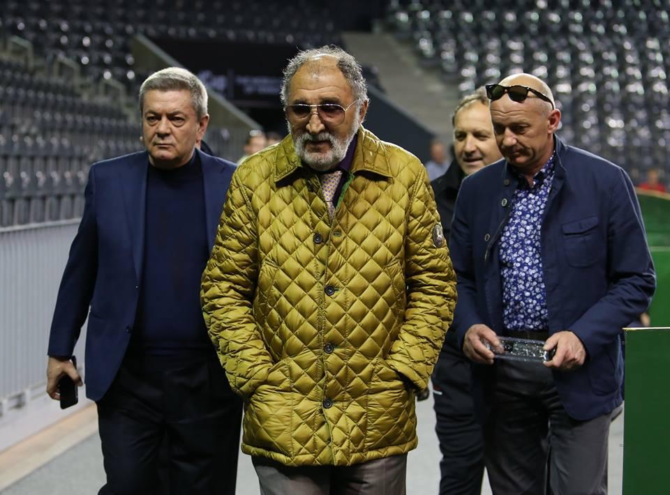 Ion Țiriac a fost în vizită la Sala Polivalentă Cluj-Napoca, dar a ratat întâlnirea cu tenismenele din echipa României / Foto: Dan Bodea