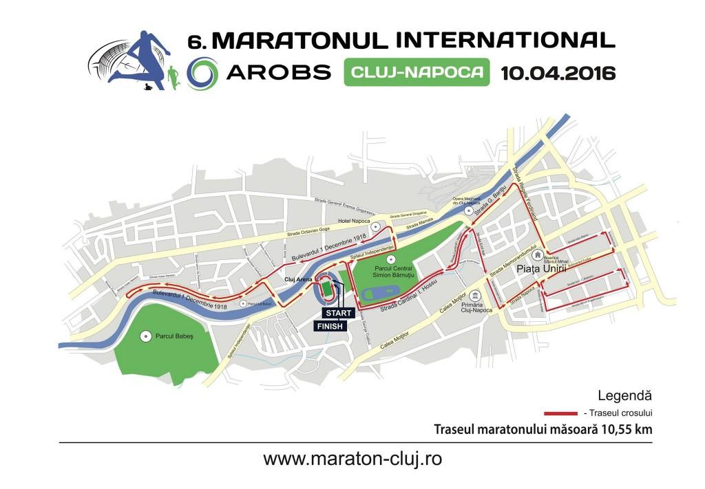 traseul maratonului