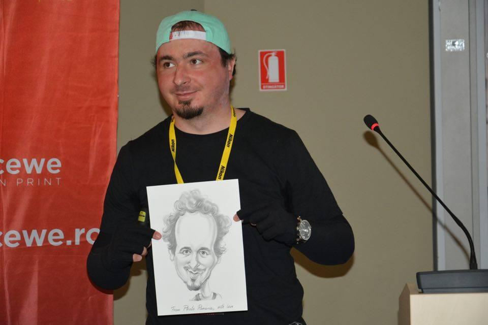 Fotograful Miluță Flueraș este unul dintre supraviețuitorii incendiului din clubul bucureștean Colectiv (Foto: Dan Bodea)