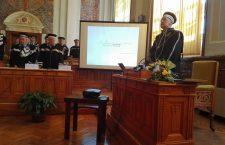 Stefan Hell a primit titlul de Doctor Honoris Causa din partea UBB