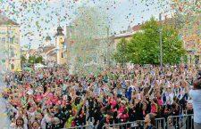 70.000 de spectatori zilnic la Zilele Clujului