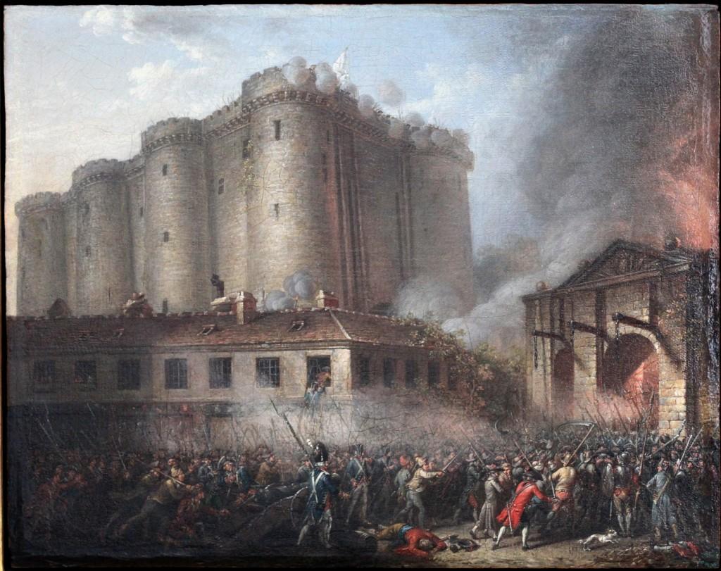 Ziua naţională a Franţei se sărbătoreşte în fiecare an la 14 iulie şi aminteşte de căderea Bastiliei, în urma asaltului de la 14 iulie 1789. În ochii revoluţionarilor, Bastilia era simbolul oprimării şi al tiraniei monarhice.