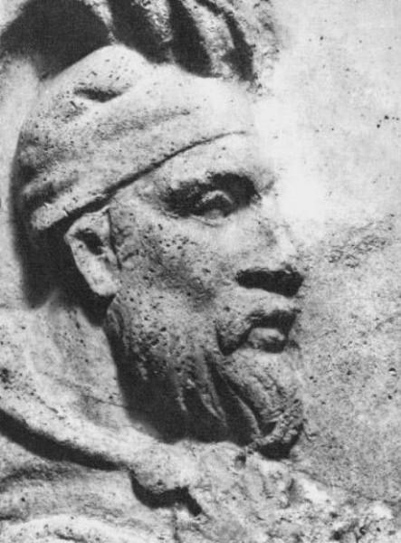 Regele dac Decebal apare în cel puţin trei scene de pe Columnă.