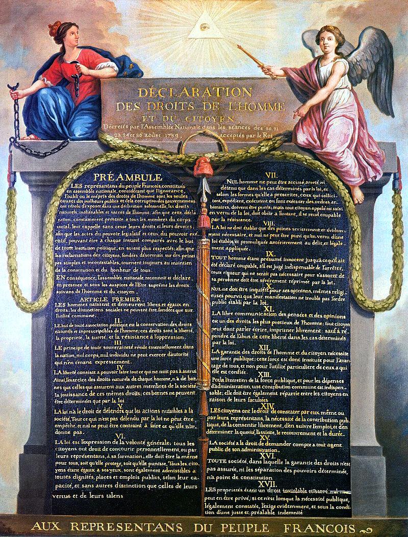 Declarația Drepturilor Omului și ale Cetateanului