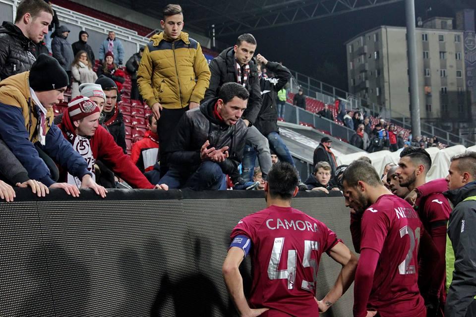 Pentru CFR Cluj problemele par să nu se mai termine. Vor începe viitorul campionat cu 9 puncte în minus / Foto: Dan Bodea