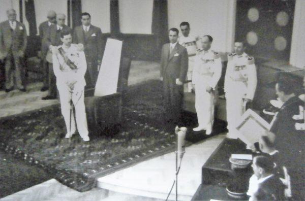 Carol al II-lea la inaugurarea Colegiului Academic