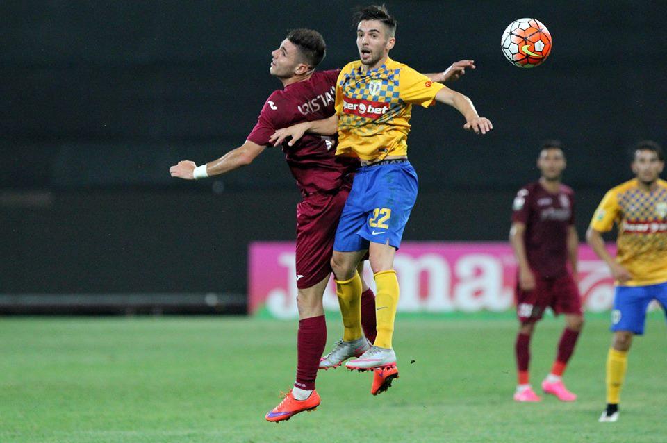 CFR Cluj și-a menajat mai mulți titulari în mecul cu Petrolul și a pierdut cu 0-1 înfruntarea de pe Arena Ilie Oană / Foto: Dan Bodea