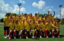 Olimpia Cluj,   în cursă pentru al șaselea event campionat-Cupa României,   nu a avut nici în acest an adversari în campionatul intern / Foto Dan Bodea