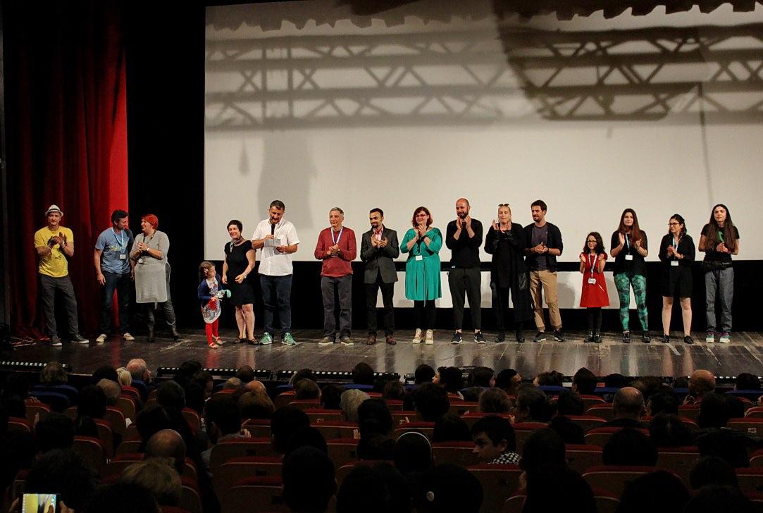 "Echipa filmului ""Sieranevada""/Foto: Dan Bodea"